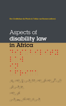 Aspects Of Disability Law In Africa